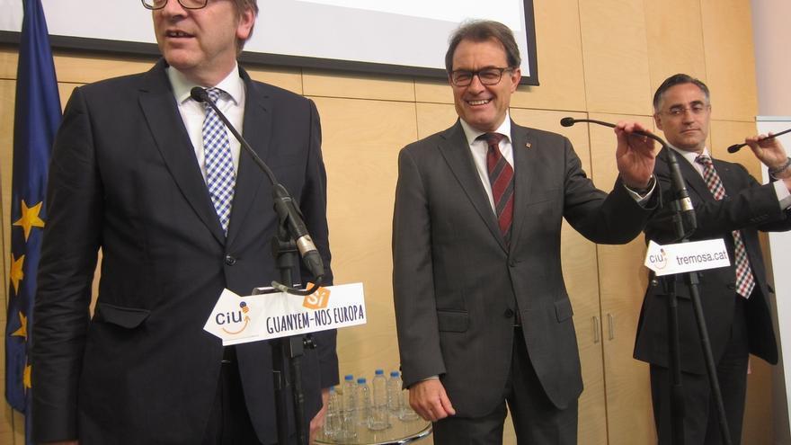 CDC y C's discrepan sobre la postura de ALDE ante el derecho a decidir