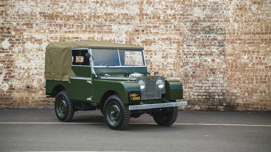 Land Rover Defender 1948. Edición Coleccionista