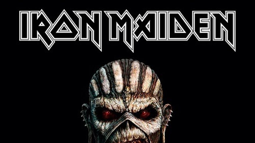 Portada del disco de Iron Maiden 'Book of de souls'