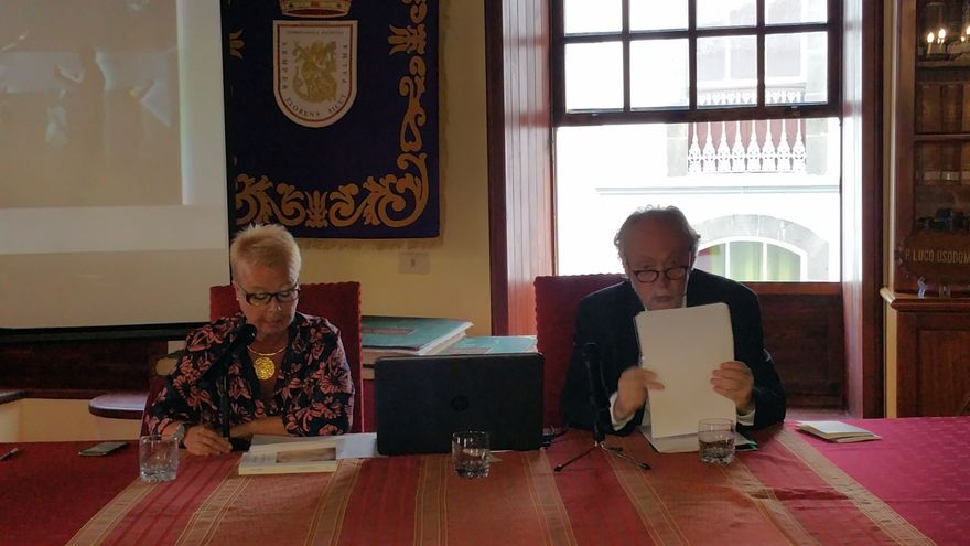 Rosa Jaubert y Jorge Lozano este jueves en La Cosmológica.