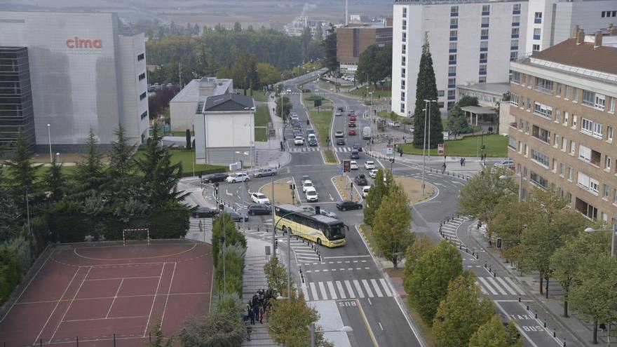 PSN de Pamplona rechaza el aumento de plazas de aparcamiento en Pío XII