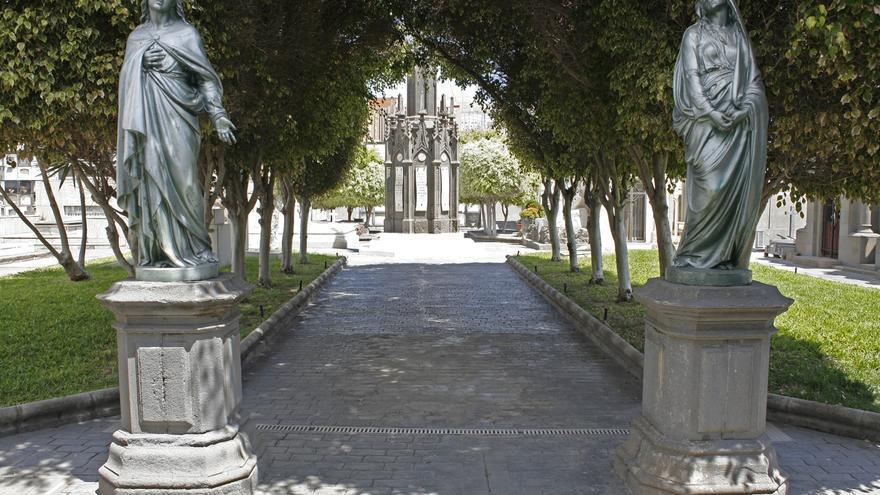 Cementerio de Vegueta, en la capital grancanaria.