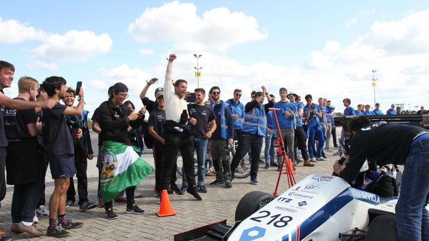 El equipo ARUS Andalucía Racing de la Universidad de Sevilla triunfa en Holanda