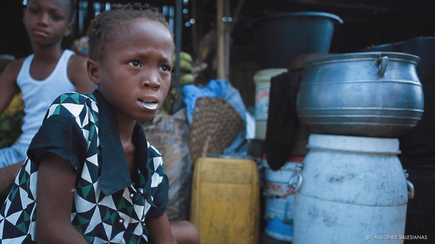 """Imagen del documental """"No estoy en venta"""", de Misiones Salesianas"""