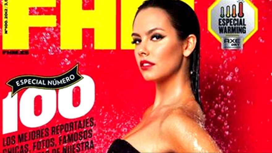 Cristina Pedroche muestra su cara más sexy en la portada de FHM