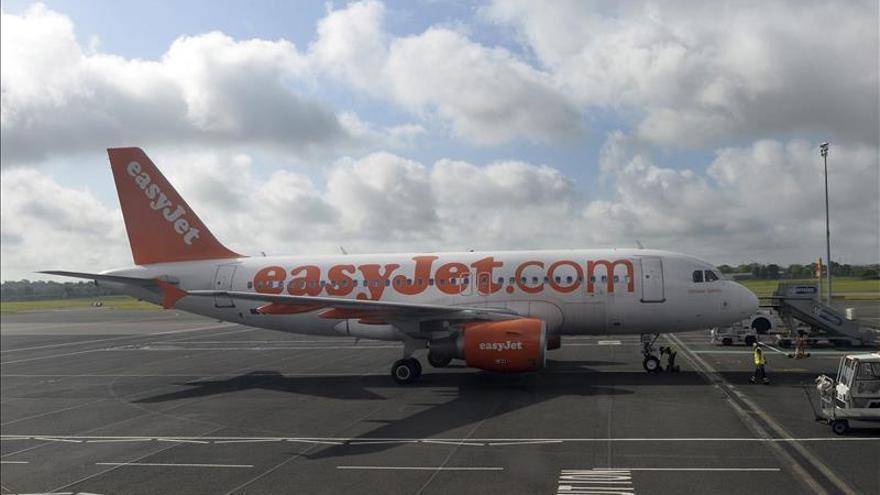 La aerolínea EasyJet transportó un 5,5 por ciento más de pasajeros en octubre
