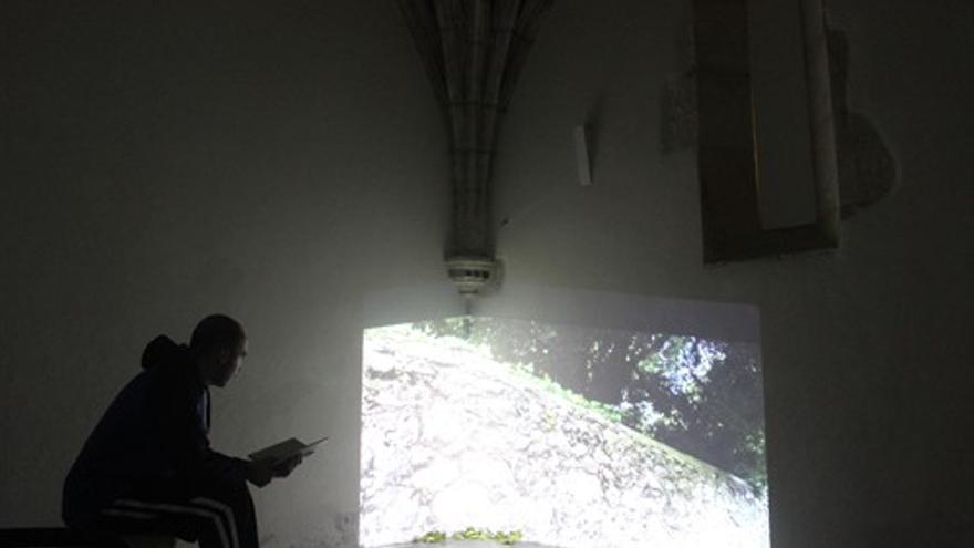Exposición sobre el Cementerio de los Ingleses en Santander.