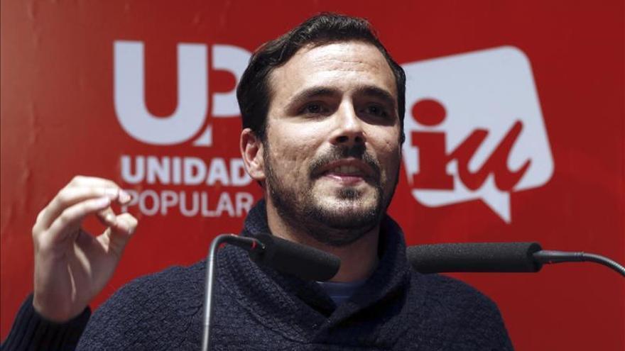 Garzón aspira a ser como la CUP, un partido pequeño pero determinante