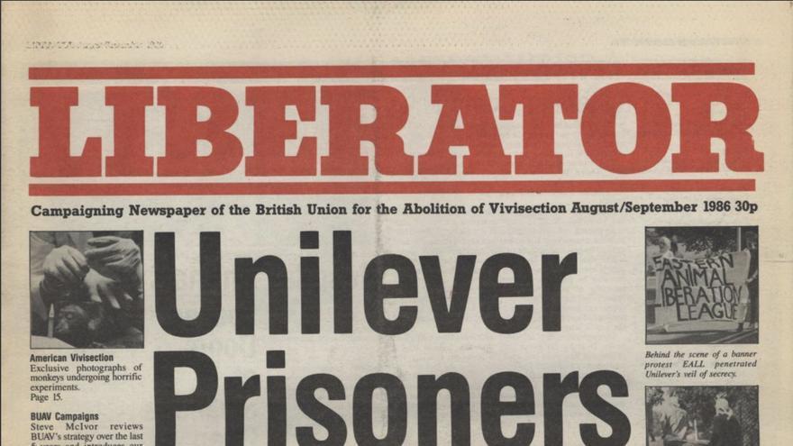 El órgano de expresión de la British Union to Abolish Vivisection (BUAV) recoge la noticia