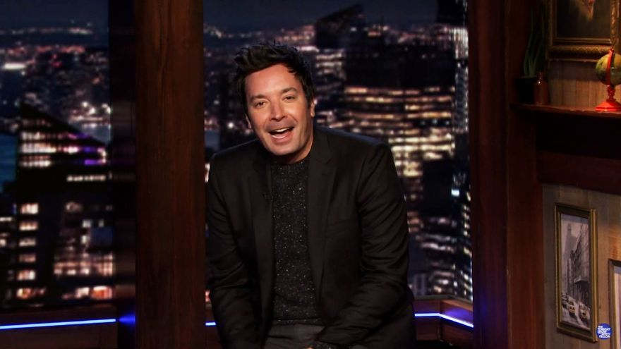 Jimmy Fallon en 'The Tonight Show'
