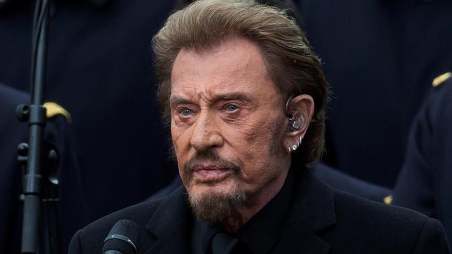 El cantante francés Johnny Hallyday, fallece a los 74 años