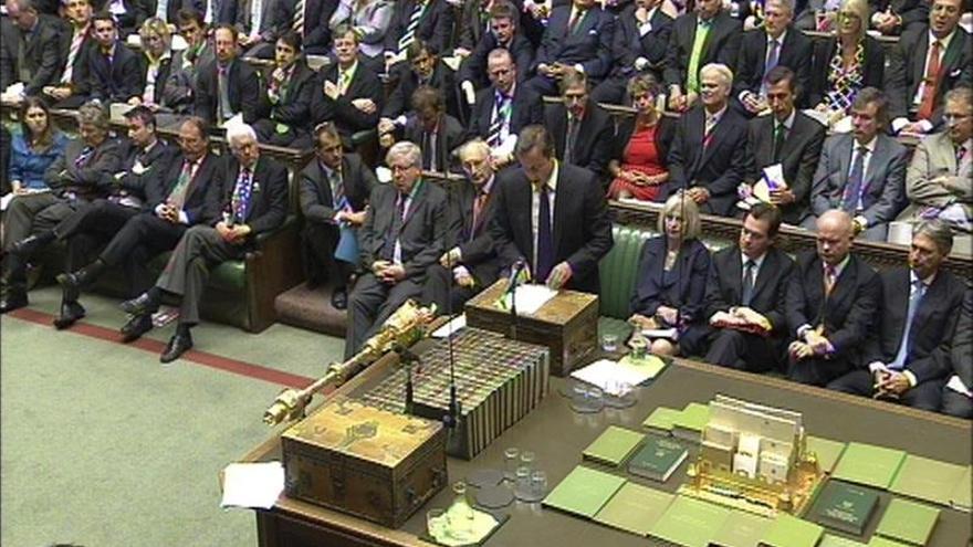 El Parlamento británico apremia con una resolución reconocer Estado palestino