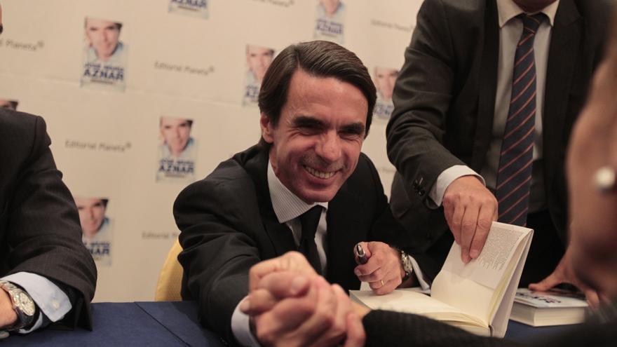 Aznar critica la campaña electoral de Rajoy en 2004 y se queja de que no se contara con él para ir a Euskadi y Cataluña