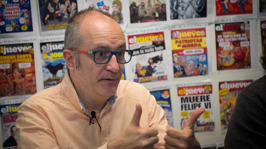 """Eduard Biosca actor de el persontatje el  """"senyor Bohigues"""" de RAC1"""