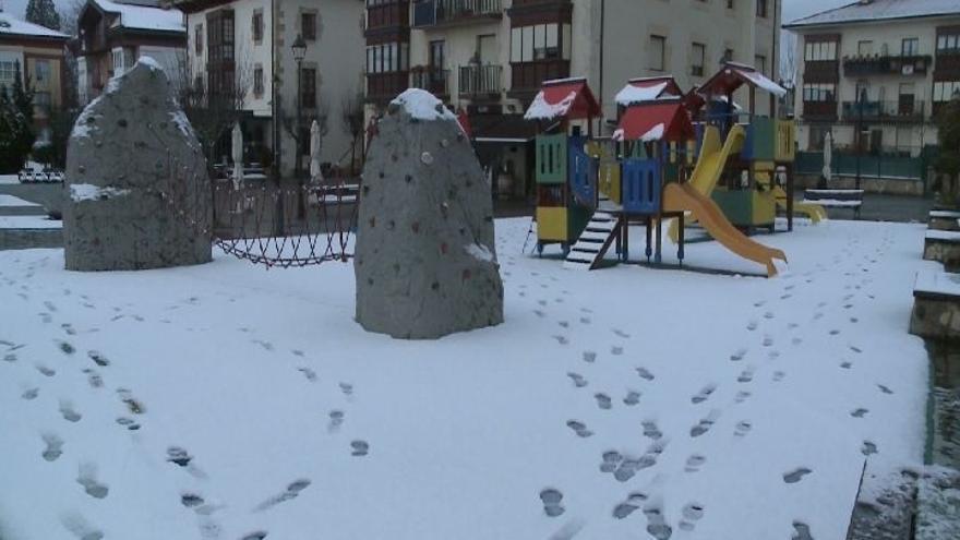 Concluye el aviso amarillo por nieve en Euskadi