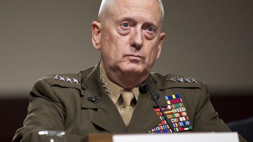 James Mattis, elegido por Donald Trump para ocupar el cargo de secretario de Defensa, en una imagen de archivo compareciendo ante el Senado
