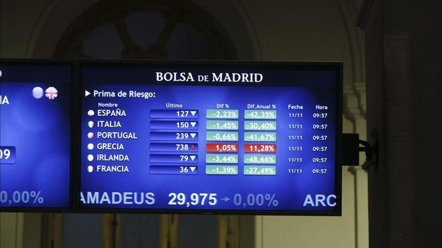 La prima de riesgo de España abre sin cambios, en 132 puntos básicos