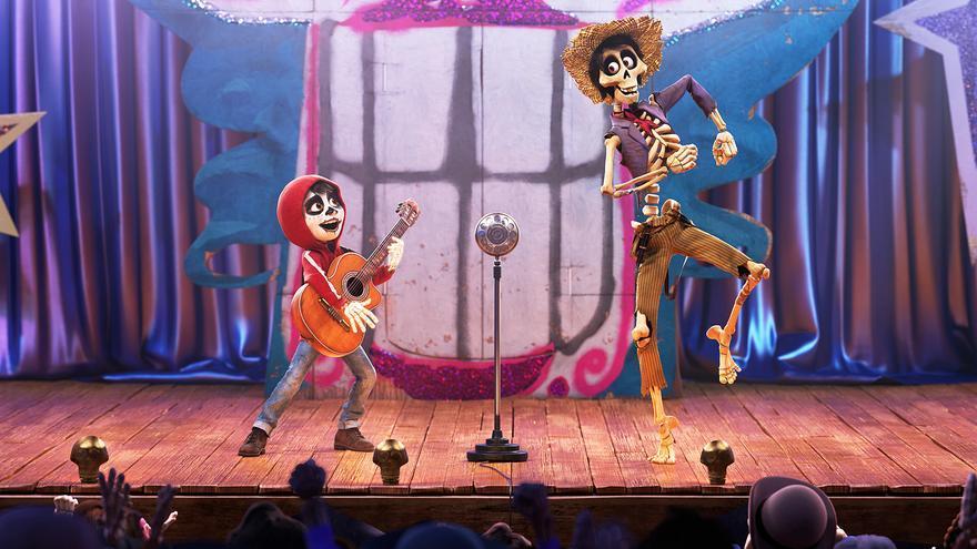 Uno de los números musicales de 'Coco'