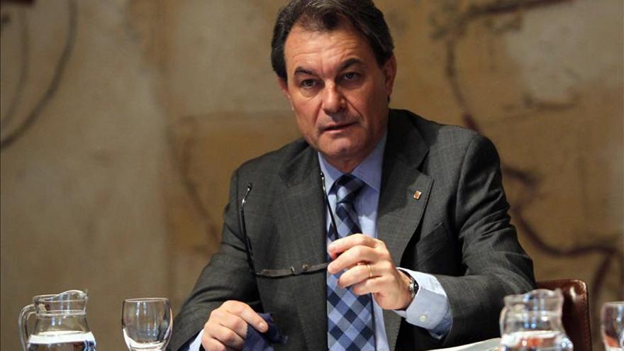 """Artur Mas hace un llamamiento a """"hacer piña"""" para conseguir un """"país nuevo"""""""
