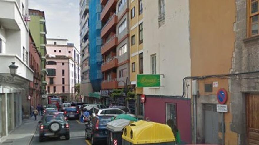 Calle Malteses, en Las Palmas de Gran Canaria