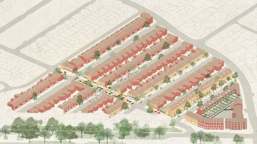 Proyecto de transformación en Granby Four Streets ideado por los ganadores el último premio Turner. / Assemble