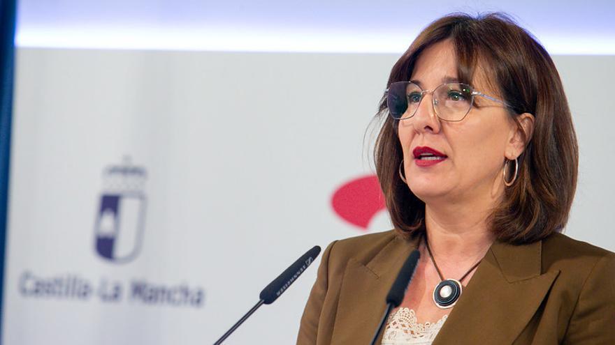 Blanca Fernández, consejera portavoz de Castilla-La Mancha
