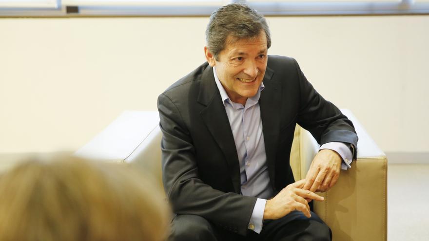 El presidente de la gestora del PSOE, Javier Fernández.