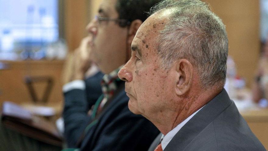 Antonio Plasencia, otro de los imputados en el caso 'Las Teresitas'. (EFE).