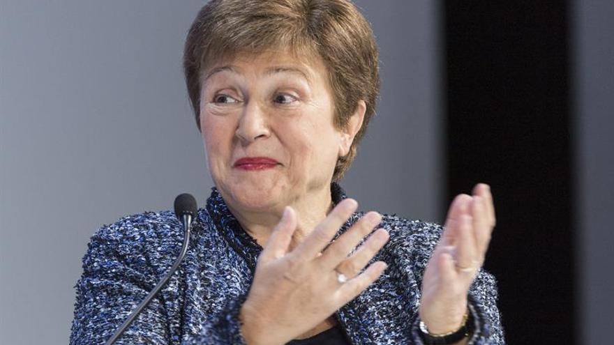"""El FMI, """"preparado para movilizar"""" un billón de dólares contra el coronavirus"""