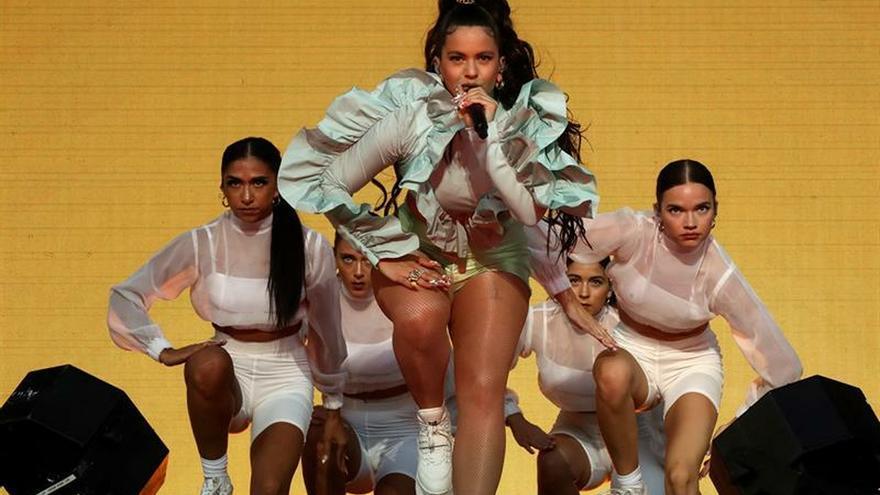 Rosalía enmudece a 40.000 personas en la apertura de Mad Cool 2019