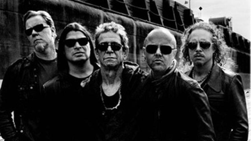 Lou Reed Junto A Metallica