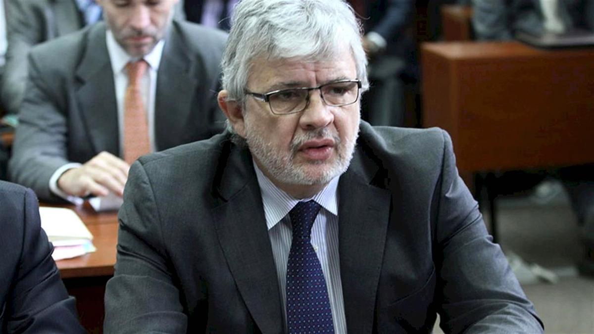 Schiavi durante el juicio en el que fue condenado por la tragedia de Once.