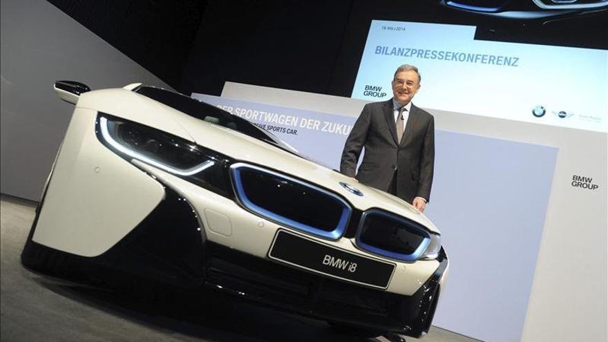 BMW gana hasta septiembre 4.547 millones de euros, un 12,7 por ciento más
