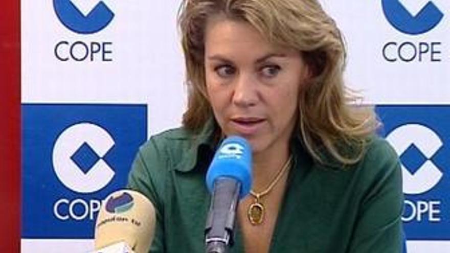 Mª Dolores de Cospedal, en la COPE