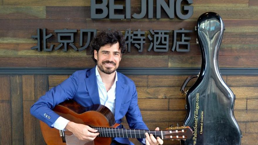 Pablo Sáinz Villegas, el guitarrista que quiere conectar y humanizar al mundo