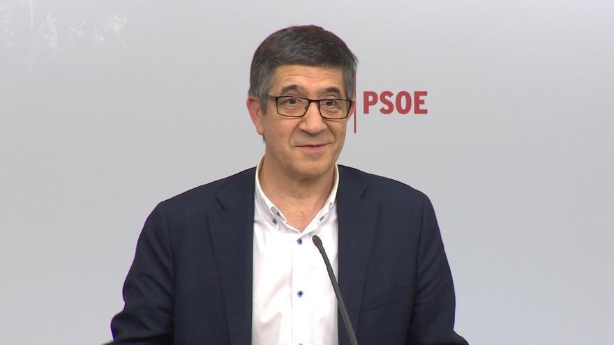 """Patxi López advierte de que ser """"secretario general no es un billete para la Moncloa"""" porque hay problemas que resolver"""