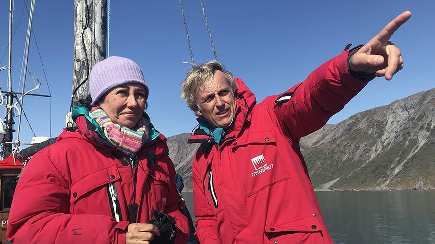 Primera aventura de Ana Botín en TV, rumbo a Groenlandia con Jesús Calleja