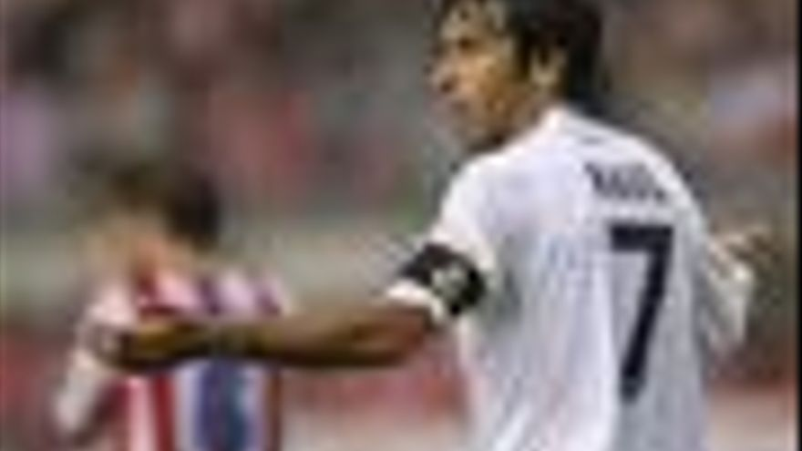 Raúl, del Real Madrid