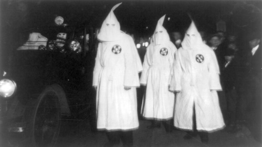Fotografía de archivo del Ku Klux Klan / Wikipedia