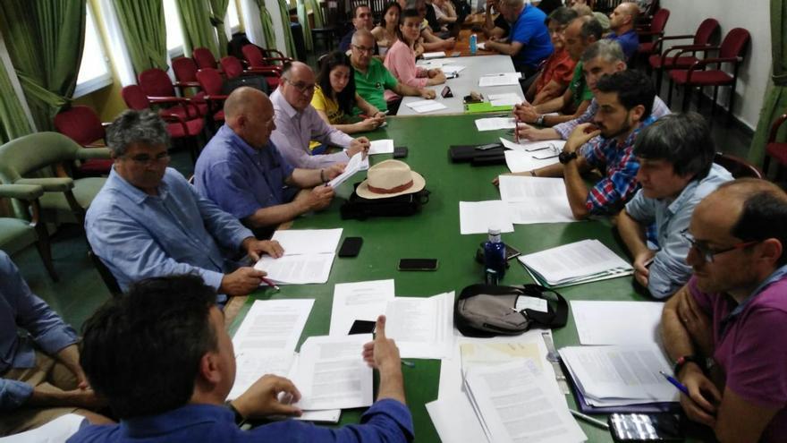 Reunión en Madrid en la que se creó la coordinadora estatal