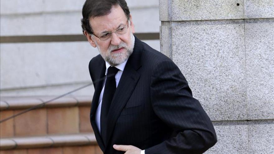 Rajoy afirma que el panorama económico ha cambiado y que no ha sido por casualidad
