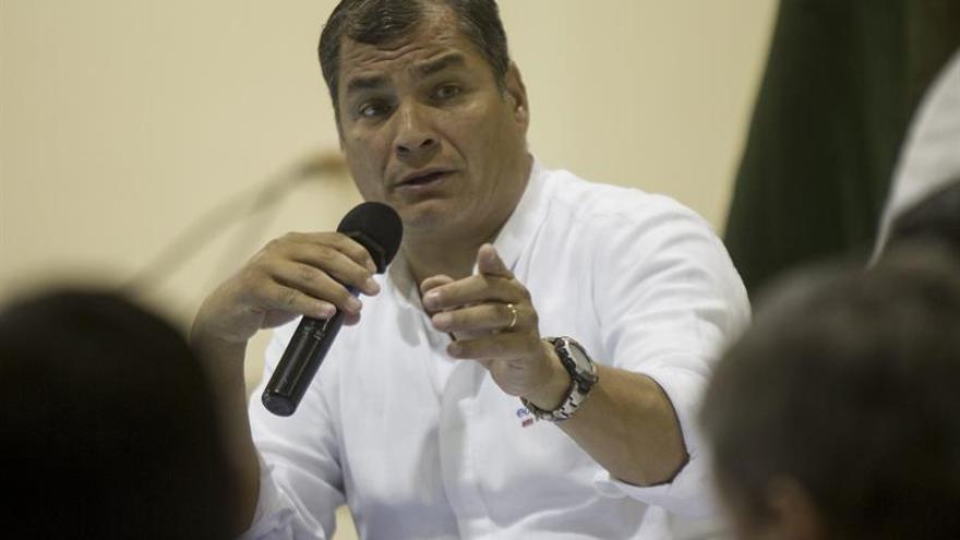 """Correa expresa a Xi """"eterna gratitud"""" por financiación China a Ecuador"""