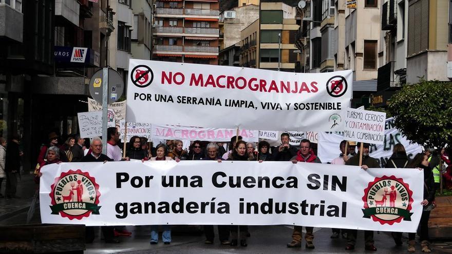 Foto: Stop Macrogranjas Pueblos Vivos Cuenca