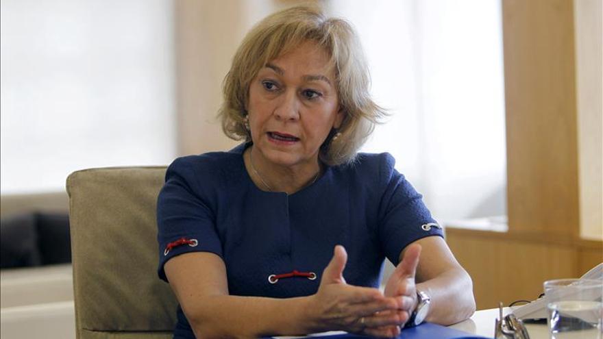 Ana Isabel Mariño (PP), primera en acreditarse en el Senado