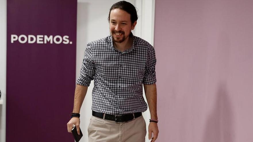 """Iglesias quiere un Podemos que mantenga """"la tensión"""" hasta las elecciones"""