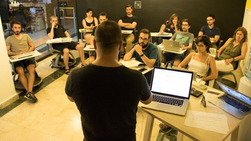Imagen de uno de los cursos formativos de EDIT. España.