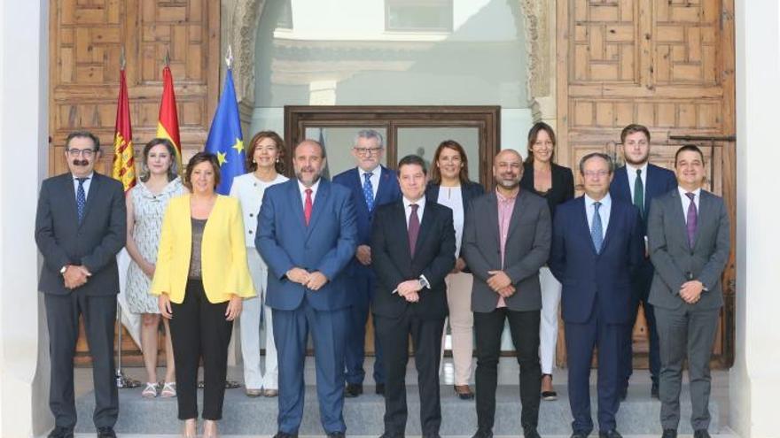 Actual Gobierno de Castilla-La Mancha