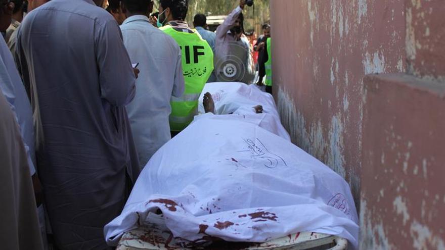 Un perturbado mental asesina a 20 personas en un templo sufí en Pakistán