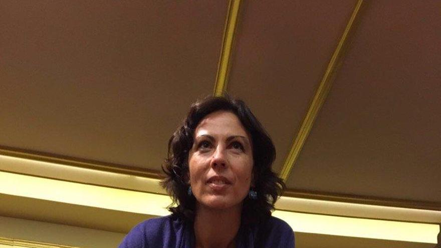 Eva García Sempere, diputada de IU en el Congreso.