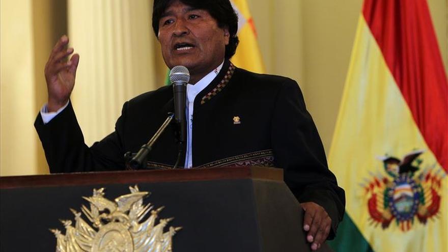 """Morales culminó visita a Alemania presentando su """"nueva Bolivia"""" al inversor"""
